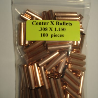 .308 x 1.150 Copper Bullet Swaging Jackets