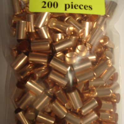 .40 x .640 Copper Bullet Swaging Jackets