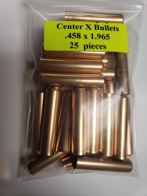 Center x Bullets .458 x 1.965