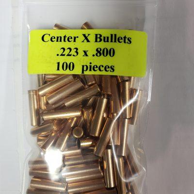 center x bullets .223 x .800